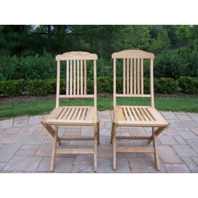 Folding Event Wooden Chairs - Pack of 2 - WC-95-WD