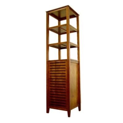 Spa Bath Tower with laundry hamper - TH16501