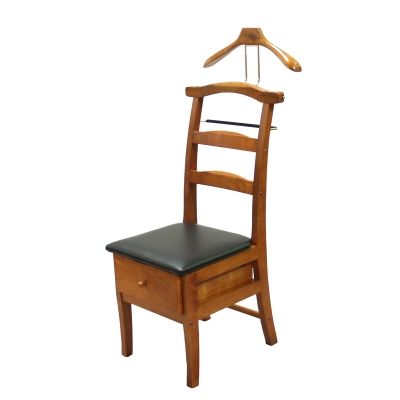 Manchester Chair Valet in Light Walnut Finish - VL16123