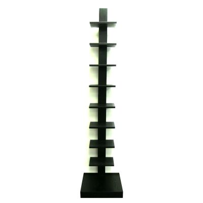 Spine Standing Book Shelves in Black - WM16567