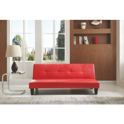 Red Sofa Bed With Backtif - G112-S