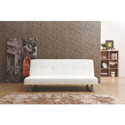 White Sofa Bed With Backtif - G115-S