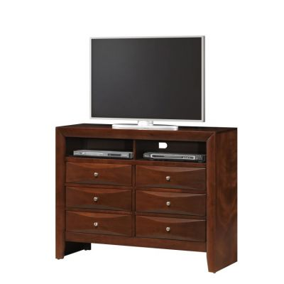Media Chest in Cherry - G1550-TV2