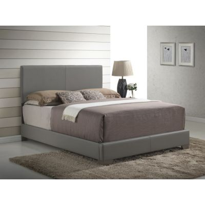Bob's Queen Bed in Gray - G1805-QB-UP