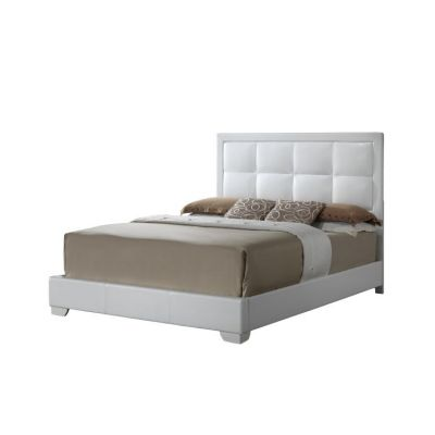 Bob's Queen Bed in White - G2594-QB-UP