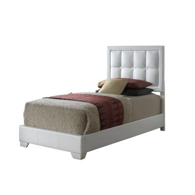 Bob's Twin Bed in White - G2594-TB-UP