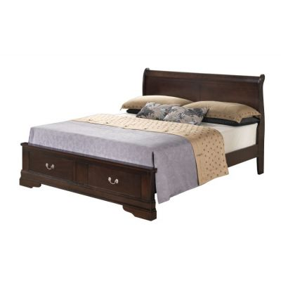 Full Storage Bed in Cappaccino - G3125D-FSB2