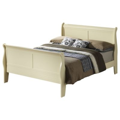 Bob's King Wooded Bed in Beige - G3175A-KB