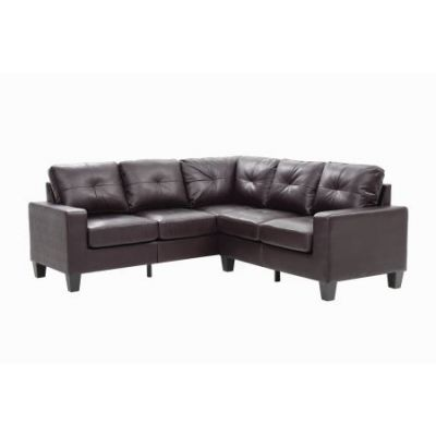 Columbus Sectional Sofa In Cappuccino Faux Leather   G464B SC. Sofas   Sectionals from Furniture7   Living Room Furniture