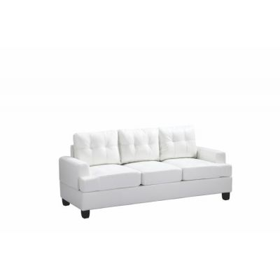 Ashley Sofa in White PU - G587A-S