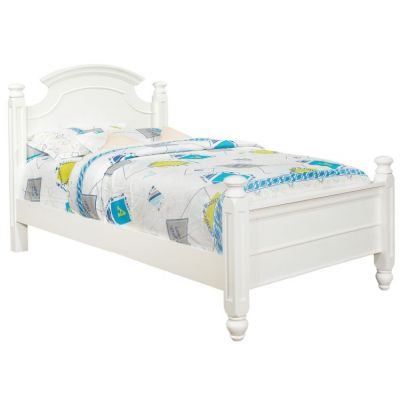 Twin Bed in White - G5975A-TB