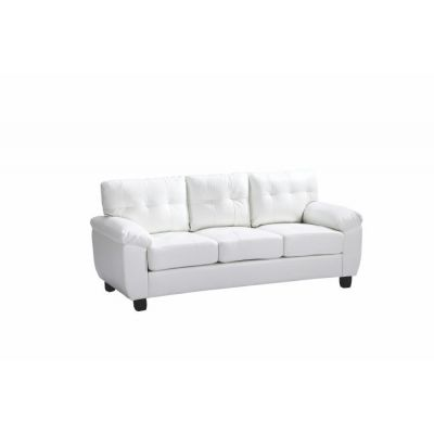 Ashley Sofa in White - G907A-S