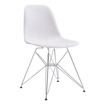Zip Stoneberry Dining Chair in White - 100322