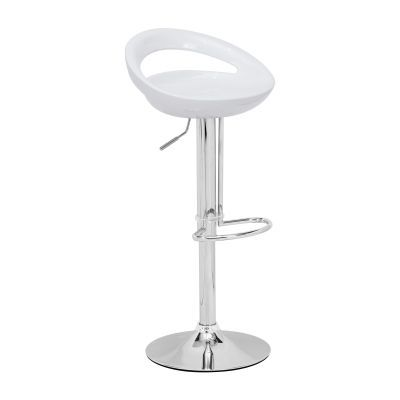 Tickle 18' Barstool in White - 300022