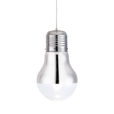 Gliese Ceiling Lamp with Chrome Finish - 50089