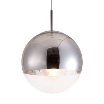 Kinetic Ceiling Lamp with Chrome Finish - 50104
