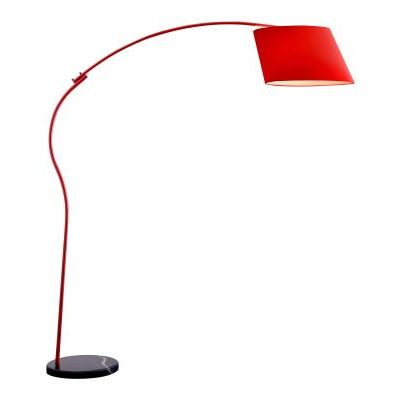 Derecho Floor Lamp with Painted Metal Finish - 50155