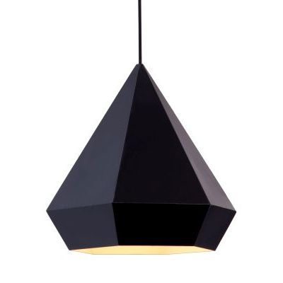 Forecast Ceiling Lamp in Black with Steel Finish - 50168