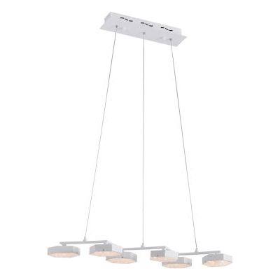 Dunk Ceiling Lamp in White with Painted Metal Finish - 56031