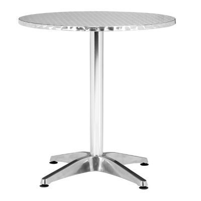 Christabel Round Aluminum Table - 700601