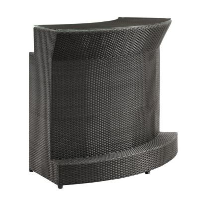 Negril Weaved Bar in Espresso - 701384