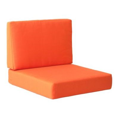 Cosmopolitan Arm Chair Cushion in Orange - 703650