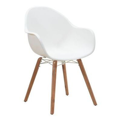 Tidal Dining Chair in White - 703752
