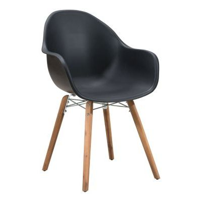 Tidal Dining Chair in Black - 703753