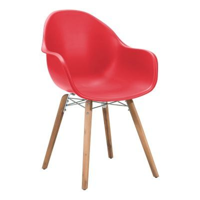 Tidal Dining Chair in Red - 703754