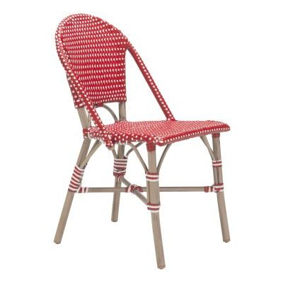 Paris Dining Chair Red&White - 703803