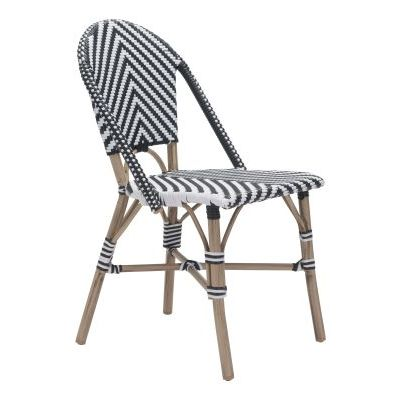 Paris Dining Chair Black&White - 703805