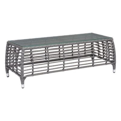 Trek Beach Coffee Table Gray & Beige - 703828