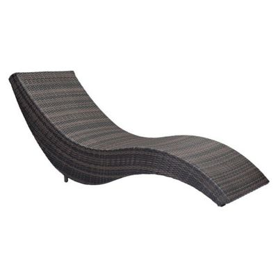 Hassleholtz Beach Chaise Lounge Brown - 703839