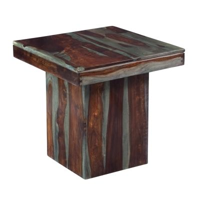 End Table in Sheesham Highlight Wash - 63160