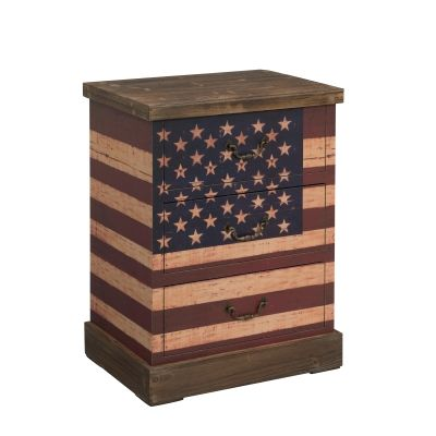 3 Drawer Chest in Old Glory Rustic - 67428