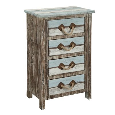 Four Drawer Chest in Islander Multicolor - 91746