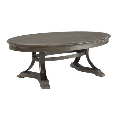 Cocktail Table in Heritage Distressed Brown - 91762