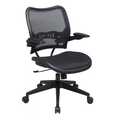 Deluxe AirGrid Seat and Back Chair with Cantilever Arms - 13-77N1P3