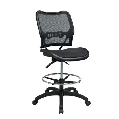 Deluxe Ergonomic AirGrid Seat and Back Drafting Chair - 13-77N30D