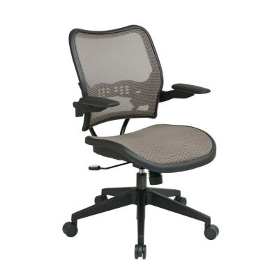 Deluxe Latte AirGrid Seat and Back Chair - 13-88N1P3
