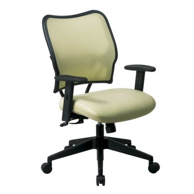 Deluxe Chair with Kiwi Back and Fabric Seat - 13-V66N1WA