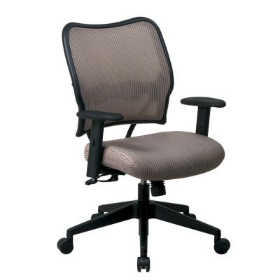 Deluxe Chair with Latte Back and Fabric Seat - 13-V88N1WA