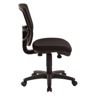 ProGrid Mesh Back Armless Task Chair in Coal - 2817-30