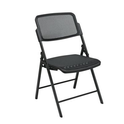 Deluxe Folding Chair With Black ProGrid Seat and Back - 81308