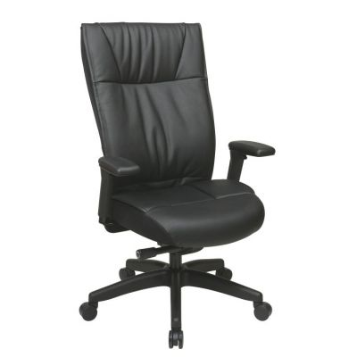 Contemporary Leather Executive Chair - 9370-55NC17U