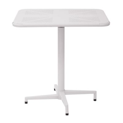Albany 30'' Square folding Table in White - ALB43211-11