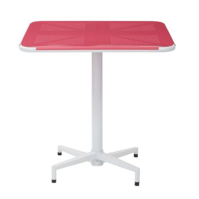 Albany 30'' Square folding Table in Pastel Pink - ALB43211-C216