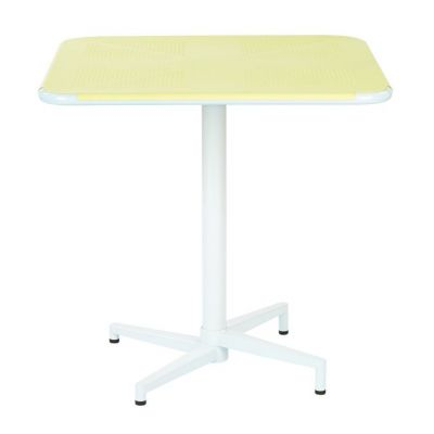 Albany 30'' Square folding Table in Pastel Lemon - ALB43211-P702