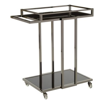 Angela Serving Cart in Grey - ANG4227-BN