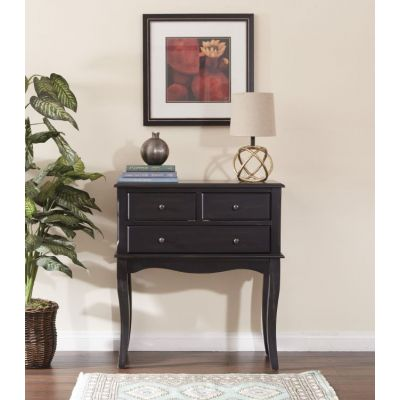Alisa Storage Console in Antique Black - BP-ALICSL-YCM1